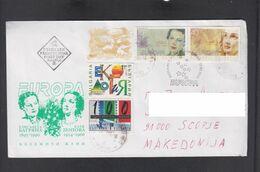 BULGARIA, FDC, EUROPA, REPUBLIC OF MACEDONIA ** - 1995