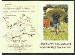 Romania, Transilvania, Criseni ,Korispatak, Sun Hat Museum. - Folletos Turísticos