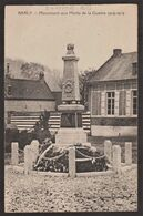 80 - Somme - Barly - Monument Aux Morts De La Guerre 1914-1919 - Francia