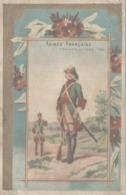 CHROMO CHICOREE LA MAGICIENNE DROULERS FILS FRESNES  ARMEE FRANCAISE DRAGON DE SAXE 1760 - Trade Cards