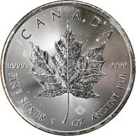 Monnaie, Canada, Maple Leaf, 5 Dollars, 2017, Bullion, FDC, Argent, KM:1601 - Canada