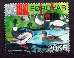 Faroe Islands  2007 .rooster And Chicken Animal     MiNr.613   ( O )  ( Lot E 1035) - Färöer Inseln