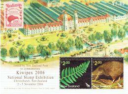 New Zealand 2006 KIWIPEX Stamp Exhibition M/S USED ACS 2091, LJ M140 - Blocks & Sheetlets
