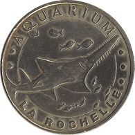 2010 MDP228 - LA ROCHELLE - Aquarium De La Rochelle 5 (Poisson Scie) / MONNAIE DE PARIS - Monnaie De Paris