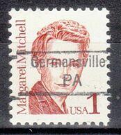 USA Precancel Vorausentwertung Preo, Locals Pennsylvania, Germansville 842.5 - Prematasellado