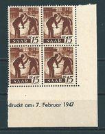 Saar MiNr. 212 Br **   (sab19) - 1947-56 Occupation Alliée