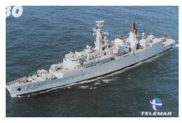 (13-8-202 Z) Warship / Bateau De Guerre - Telamar 30 - Brazil - Ship Pennant F 47 - Schiffe