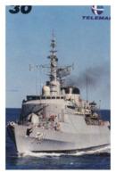 (13-8-202 Z) Warship / Bateau De Guerre - Telamar 30 - Brazil - Ship Pennant F 41 - Schiffe