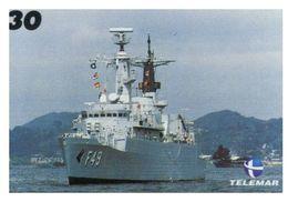(13-8-202 Z) Warship / Bateau De Guerre - Telamar 30 - Brazil - Ship Pennant F 49 - Schiffe