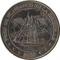 2008 MDP115 - LA ROCHELLE - Port De Plaisance 1 / MONNAIE DE PARIS - Monnaie De Paris