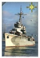 (13-8-202 Z) Warship / Bateau De Guerre - Blyskawica (Poland) 25 - Schiffe