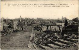 CPA Militaire - SERMAIZE-les-BAINS - La Rue De VITRY (91702) - Sermaize-les-Bains