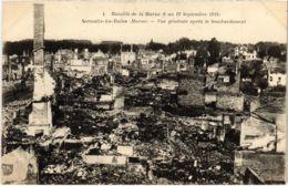 CPA Militaire - SERMAIZE-les-BAINS - Vue Générale Apres (91720) - Sermaize-les-Bains