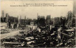 CPA Militaire - SERMAIZE-les-BAINS - La Gendarmerie Et L'Hotel (91727) - Sermaize-les-Bains