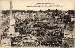 CPA Militaire - SERMAIZE-les-BAINS - Vue Générale Apres (91728) - Sermaize-les-Bains