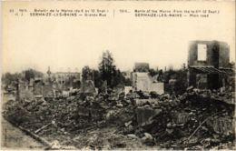 CPA Militaire - SERMAIZE-les-BAINS - Grande Rue (91731) - Sermaize-les-Bains