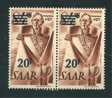 Saar MiNr. 237 I ** Urdruck  (sab28) - 1947-56 Occupation Alliée