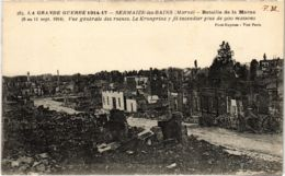 CPA Militaire - SERMAIZE-les-BAINS - Vue Générale Des Ruines (91776) - Sermaize-les-Bains