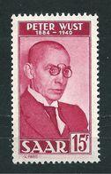 Saar MiNr. 290 I **  Geprüft Ney BPP   (sab28) - 1947-56 Occupation Alliée