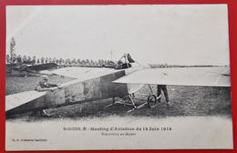 Cpa 52 SAINT DIZIER  Anime BIELOVUCIC Meeting D'Aviation 14.06.1914 - Saint Dizier