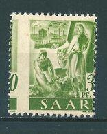 Saar MiNr. 217 ** Extrem Verzähnt  (sab30) - 1947-56 Occupation Alliée