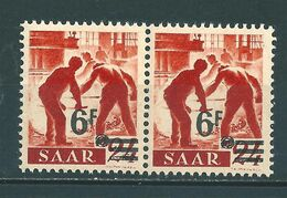 Saar MiNr. 233 I/I ** Urdruck (sab30) - 1947-56 Occupation Alliée