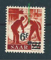 Saar MiNr. 233 ** Abart   (sab30) - 1947-56 Occupation Alliée