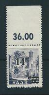 Saar MiNr. 236 ** Aufdruck Abklatsch  (sab30) - 1947-56 Occupation Alliée
