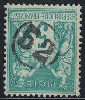 SAGE - N°75 -  OBLITERATION CHIFFRE DANS UN CERCLE - 52 - JOUR DE L'AN. - Storia Postale (Francobolli Sciolti)