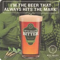 BEERMAT - WYE VALLEY BREWERY  (STOKE LACY, ENGLAND) - BITTER - (Cat No 089) - (2018) - Beer Mats