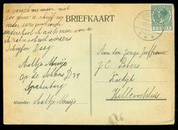 BRIEFKAART Uit 1928 Van SPAKENBURG Naar HELLEVOETSLUIS  (11.814e) - Brieven En Documenten