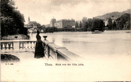 Thun - Blick Von Der Villa Julia (465) - BE Berne