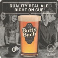 BEERMAT - WYE VALLEY BREWERY  (STOKE LACY, ENGLAND) - BUTTY BACH - (Cat No 084) - (2018) - Beer Mats