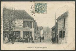 Jessains - Rue Saint-Nicolas - R. Rale Photo - Voir 2 Scans - Andere Gemeenten