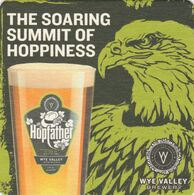 BEERMAT - WYE VALLEY BREWERY  (STOKE LACY, ENGLAND) - THE HOPFATHER - (Cat No 095) - (2019) - Beer Mats