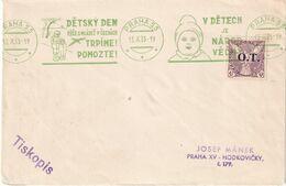 TCHECOSLOVAQUIE 1935 LETTRE DE PRAHA - Checoslovaquia