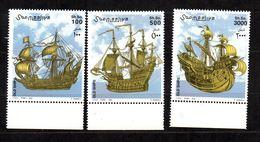 SOMALIA, 2002 - SERIE, SET - VELIERI - SAILING SHIPS, MNH** BDF - Somalia (1960-...)