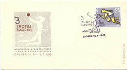 ZAGREB  HANDBALL 1965 FDC  FANTASTIC   COVER (AGO200161) - Handball