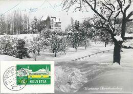 Rorschacherberg - Wartenberg Im Winter            1959 - SG St. Gallen