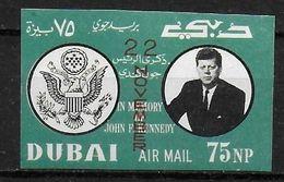 DUBAI    PA 62  * *   NON DENTELE  Kennedy - Kennedy (John F.)