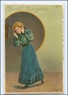 U9427/ Telefon  Mailick Litho AK 1901 - Mailick, Alfred