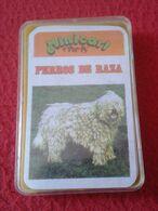 1978 SPAIN BARAJA DE CARTAS CARDS TAMAÑO MINI MINICART PERROS DE RAZA DE NAIPES COMAS 1978 DOGS DOG CHIEN HUND CANE..... - Barajas De Naipe