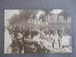 Abbeville  Carte Photo  Procession 1909 - Abbeville