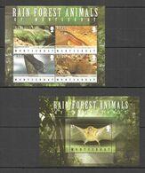 A016 MONTSERRAT RAINFOREST WILD ANIMALS OF MONTSERRAT FAUNA KB+BL MNH - Serpents