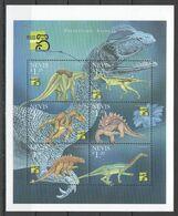 A018 1999 NEVIS FAUNA PREHISTORIC ANIMALS DINOSAURS 1KB MNH - Tortugas