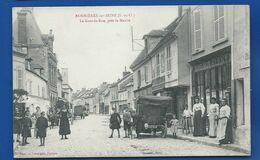 BONNIERES-sur-SEINE  La Grande Rue     Animées     écrite En 1913 - Bonnieres Sur Seine