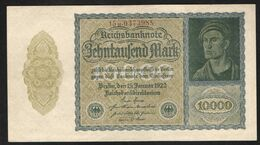 GERMANY WEIMAR  10000   MARK 1922 - [ 3] 1918-1933 : Repubblica  Di Weimar