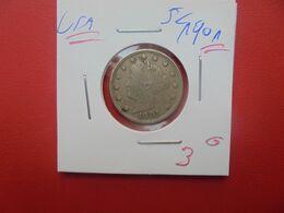 U.S.A  5 Cents 1901 (A.14) - 1883-1913: Liberty