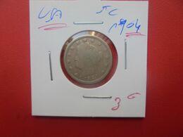 U.S.A  5 Cents 1904 (A.14) - 1883-1913: Liberty