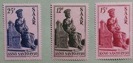 SAAR 1950 ANNO SANTO - 1947-56 Occupation Alliée